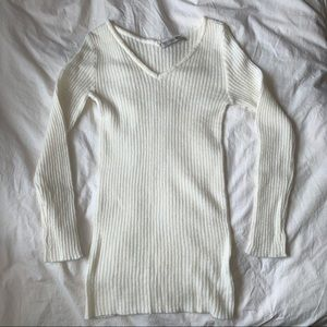 white On&On women's cashmere sweater